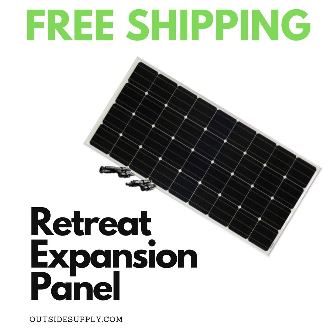Picture of 100 WATT RETREAT SOLAR EXPANSION KIT