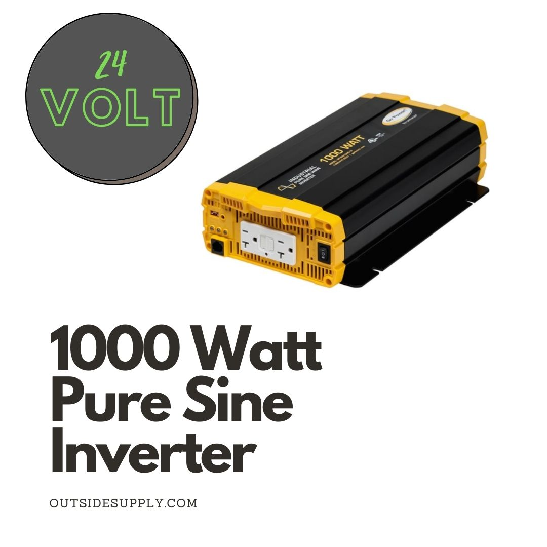 Picture of 1000 WATT PURE SINE WAVE INVERTER - cUL - 24 VOLT