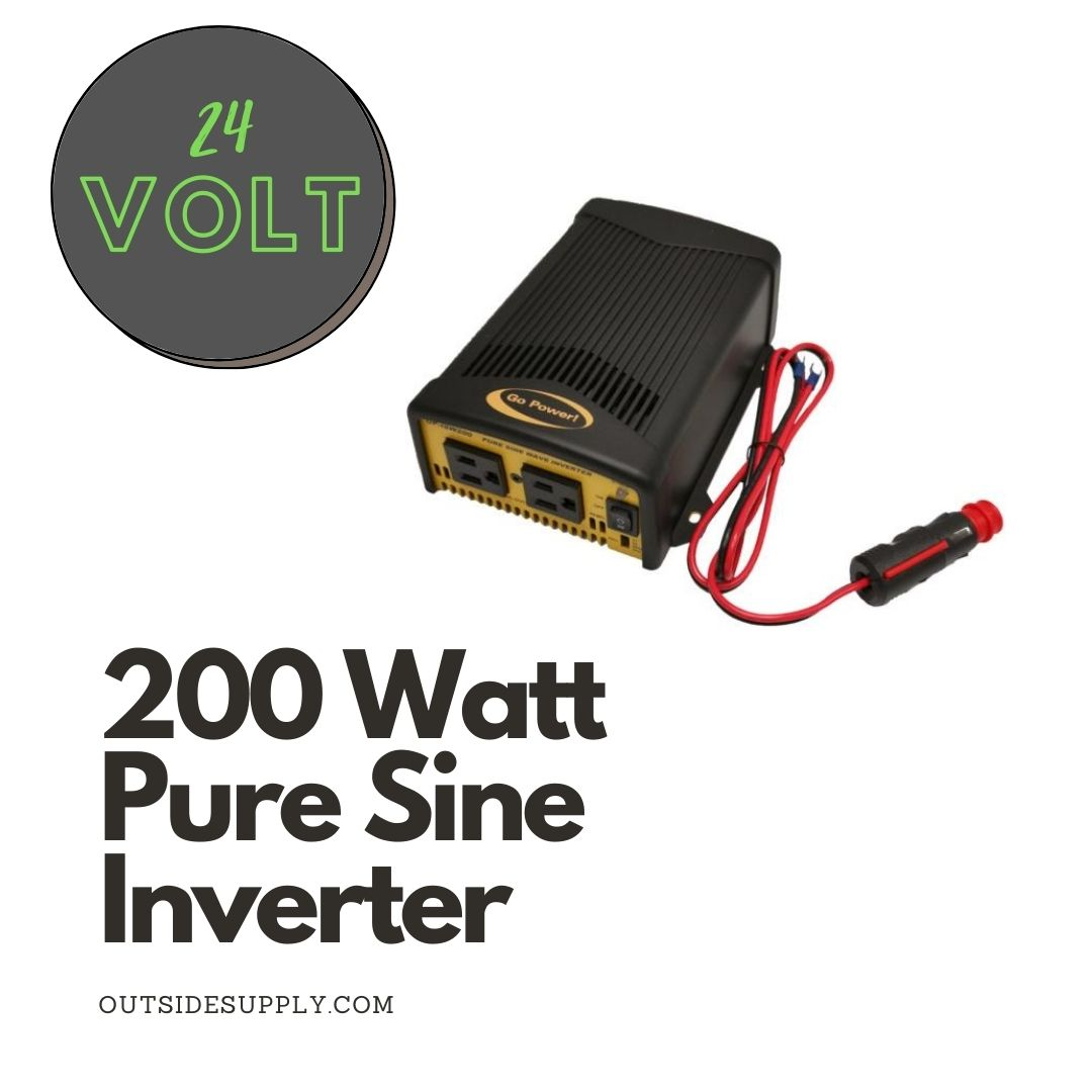 Picture of 200 WATT PURE SINE WAVE INVERTER