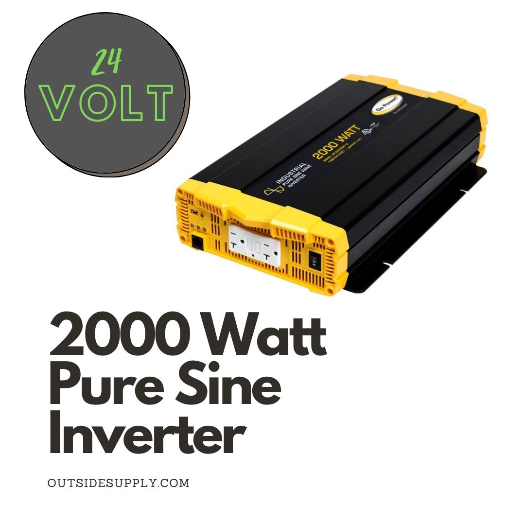 Picture of 2000 WATT PURE SINE WAVE INVERTER - cUL - 24 VOLT