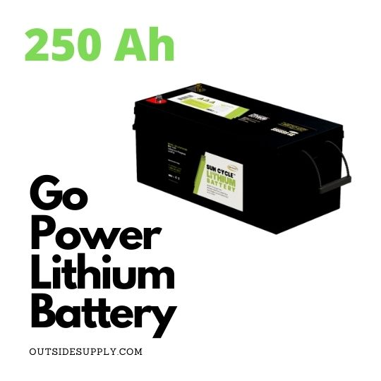 Picture of 250 AMP HOUR LITHIUM BATTERY 12 VOLT