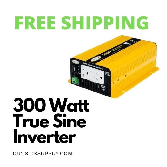 Picture of 300 Watt Sine Wave Inverter 12 Volt