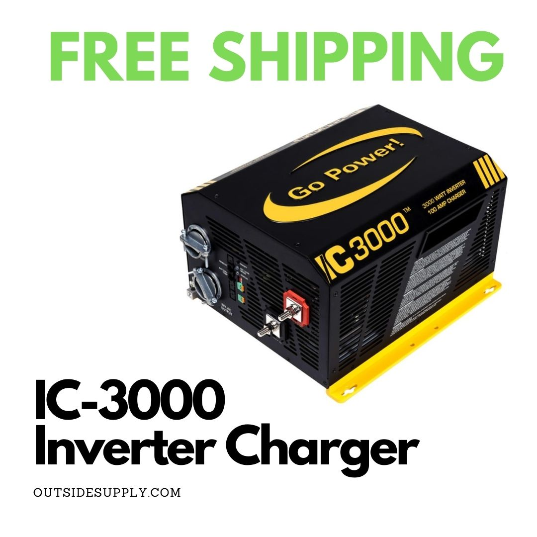 Picture of 3000 WATT INVERTER / 125 AMP CHARGER - 50A TRANSFER SWITCH