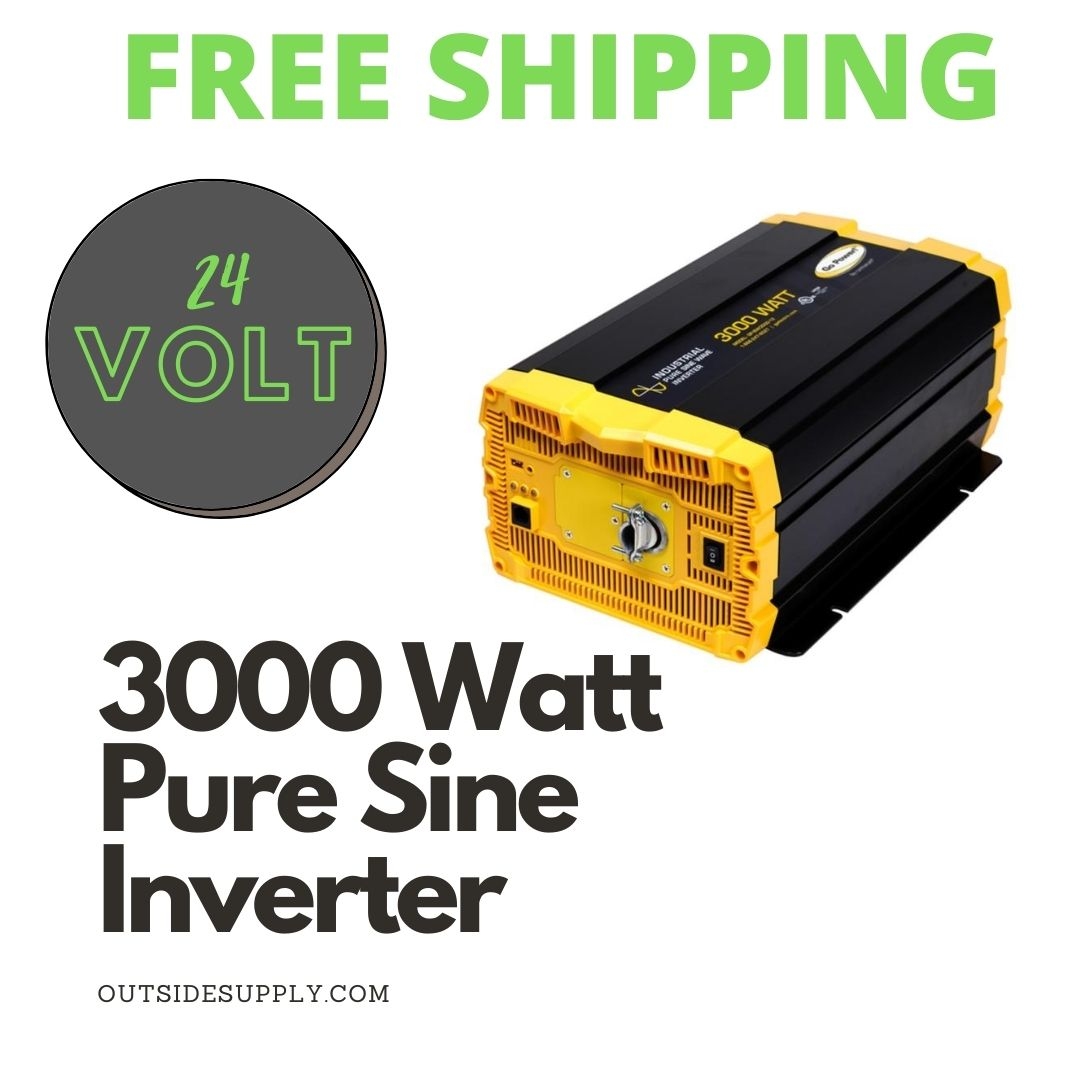 Picture of 3000 WATT PURE SINE WAVE INVERTER - cUL - 24 VOLT