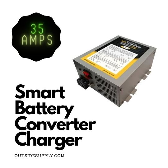 Picture of 35 AMP CONVERTER / BATTERY CHARGER 12V, 1 BANK