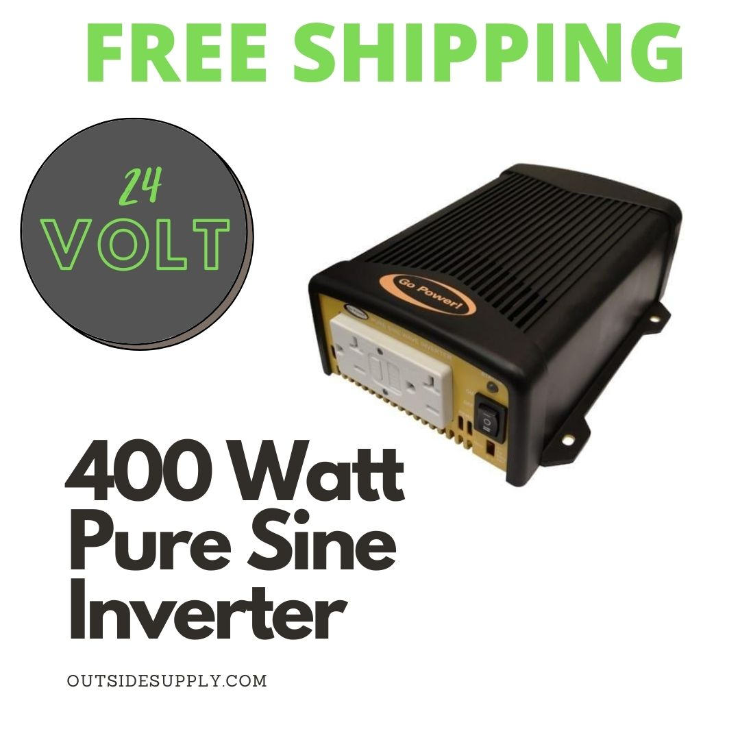 Picture of 400 WATT PURE SINE WAVE INVERTER - cUL - 24 VOLT