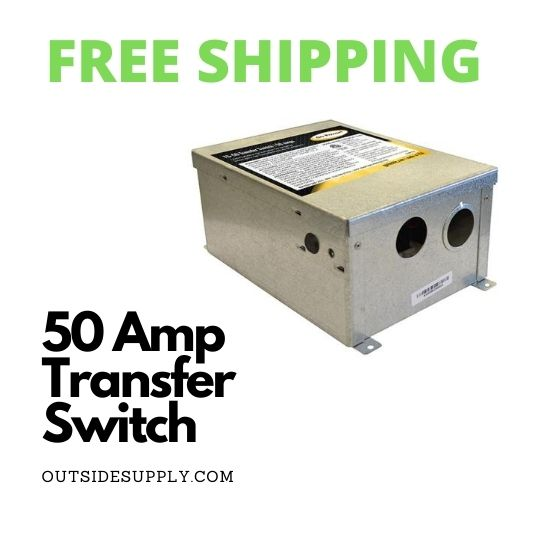 Picture of 50 AMP TRANSFER SWITCH - METAL ENCLOSURE