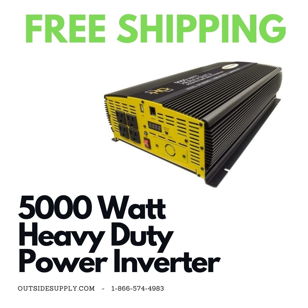 Picture of 5000 WATT MODIFIED SINE WAVE INVERTER 12V - HEAVY DUTY
