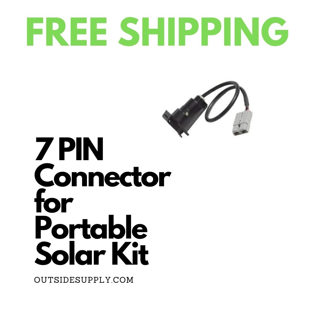 Picture of 7 PIN TRAILER ADAPTER for PORTABLE SOLAR KIT