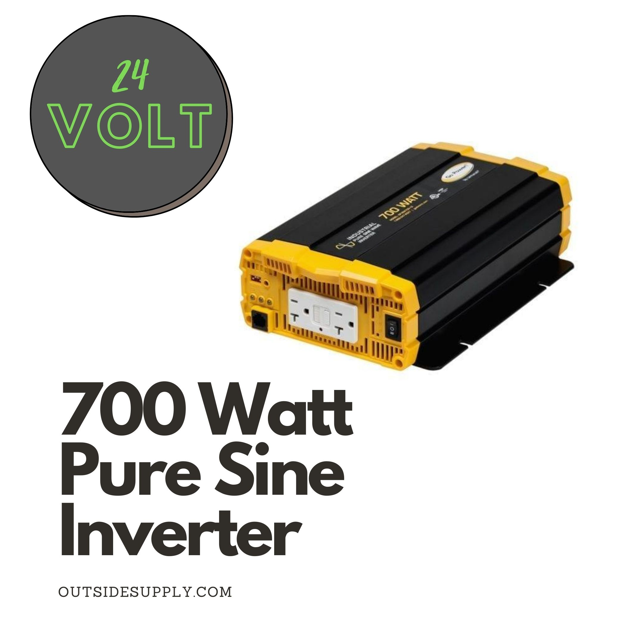 Picture of 700 WATT PURE SINE WAVE INVERTER - cUL - 24 VOLT