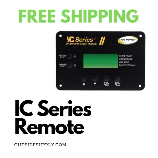 Picture of INVERTER CHARGER REMOTE 12 VOLT