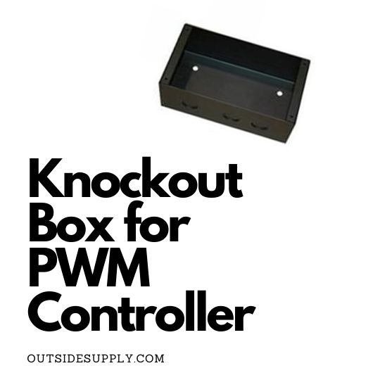 Picture of KNOCKOUT BOX FOR THE GP-PWM-30