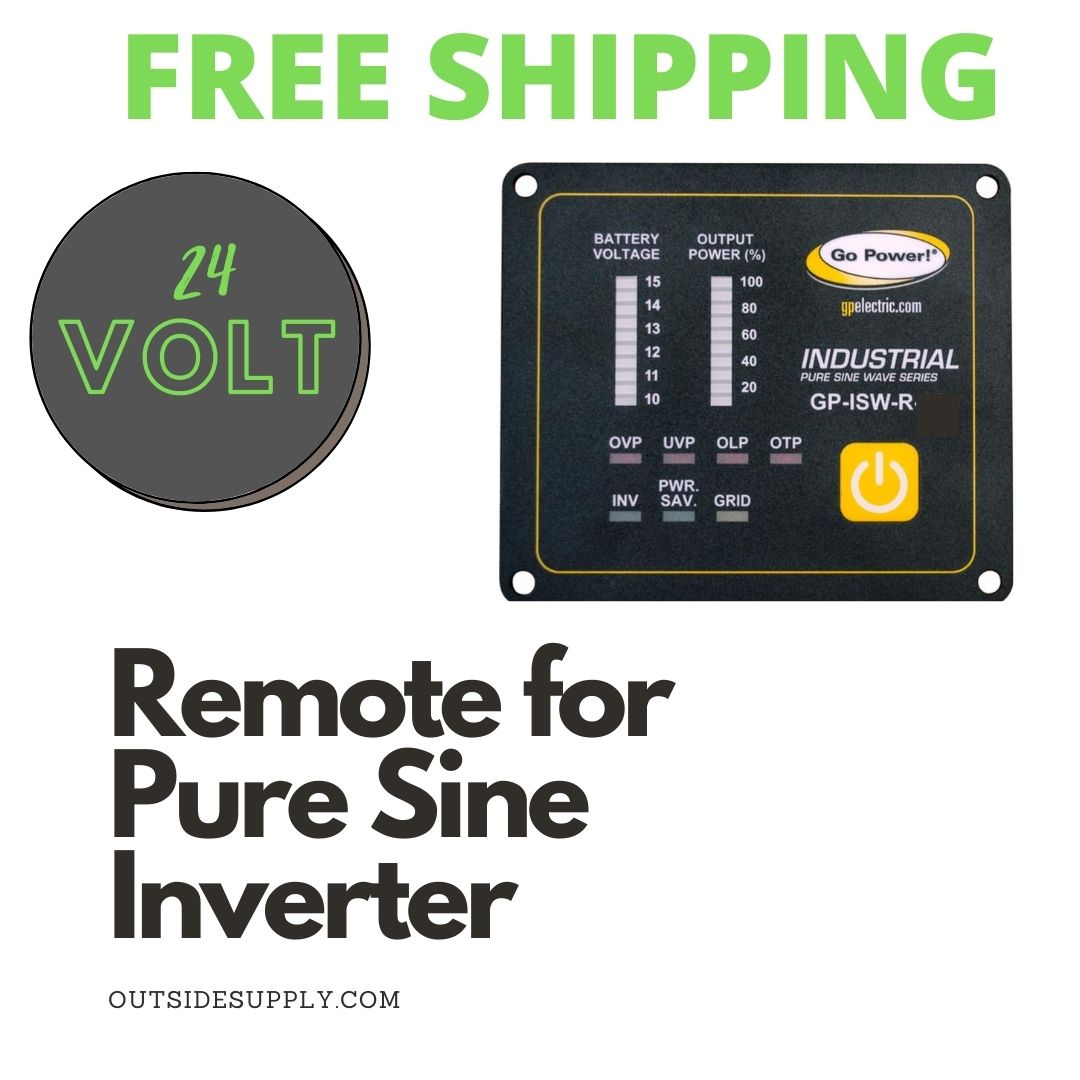 Picture of REMOTE FOR ISW SERIES OF INVERTERS 24VOLT