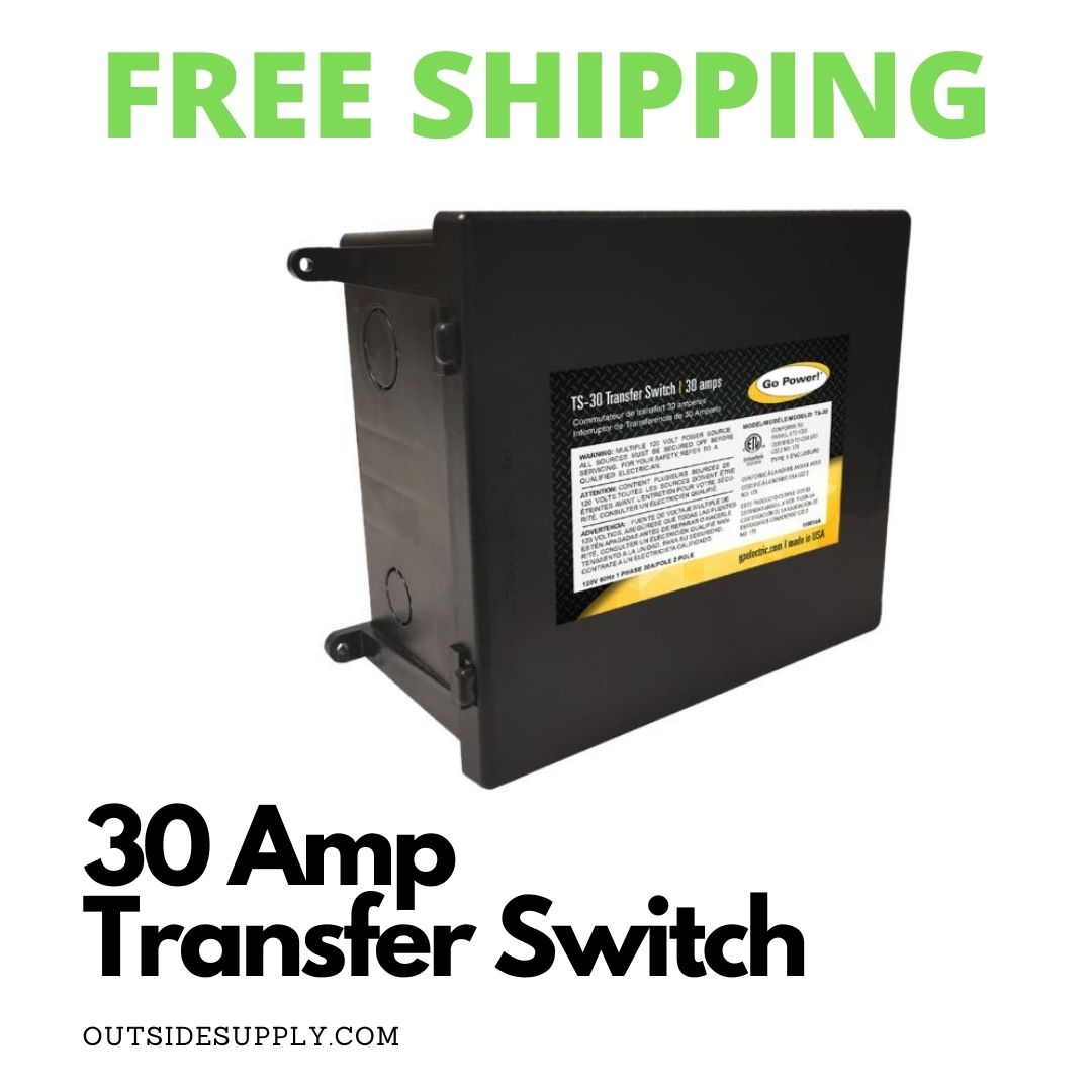 Picture of 30 AMP TRANSFER SWITCH