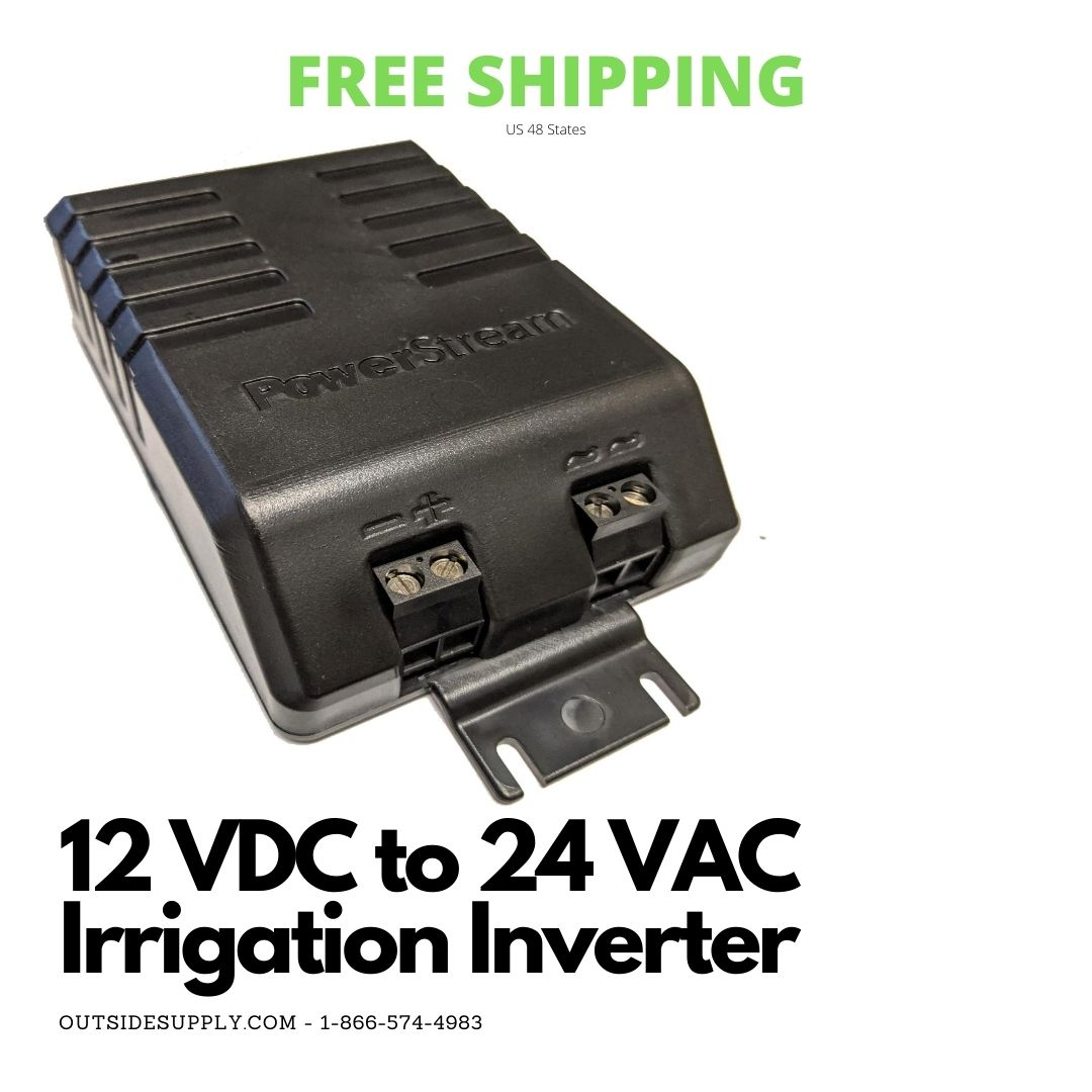 Picture of 12 VDC to 24VAC Irrigation Power Inverter 40 Watts