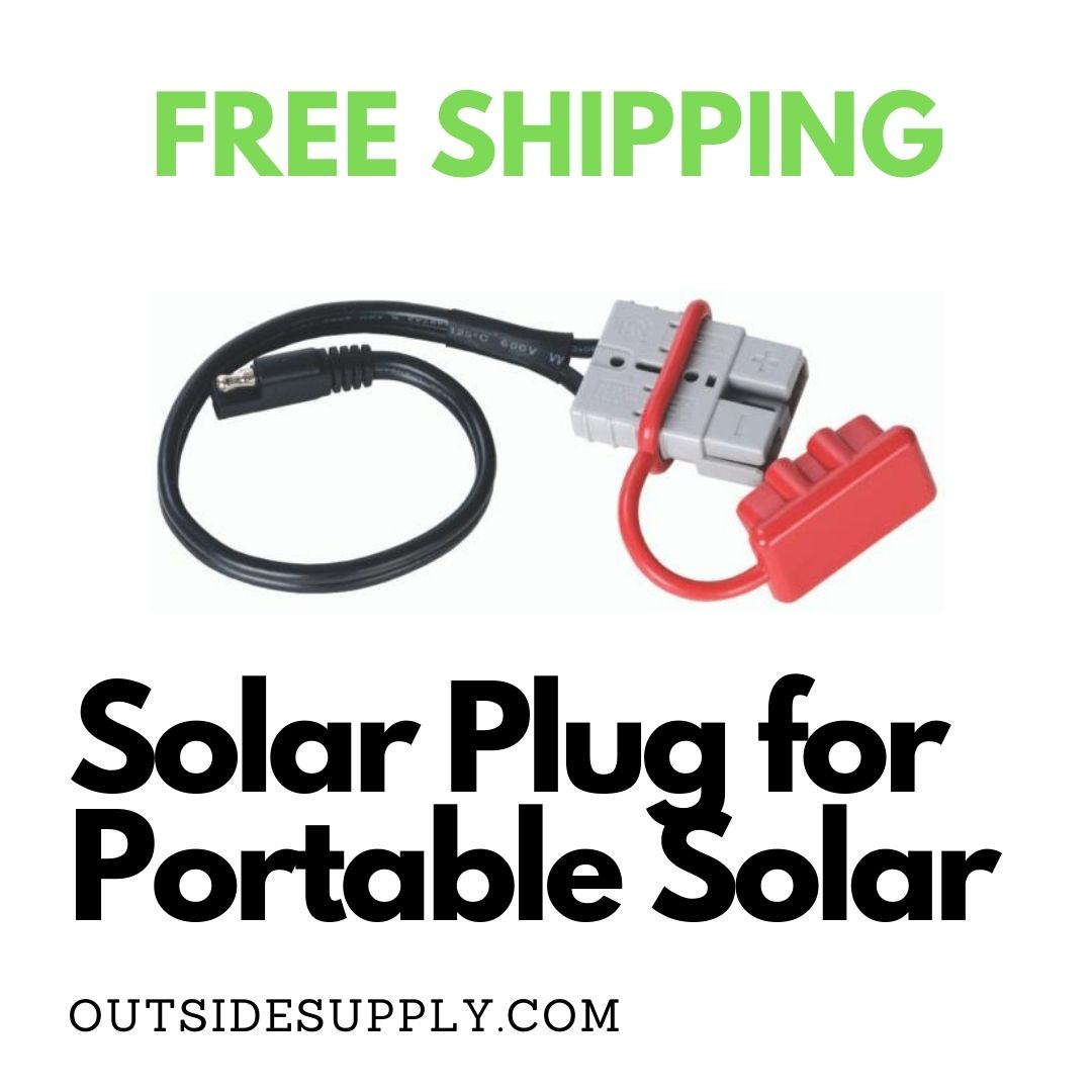 Picture of Solar Plug Quick Connect for Portable Solar